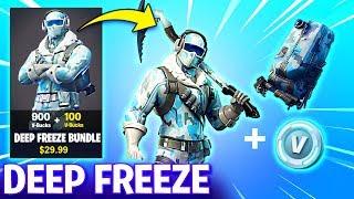 How to get DEEP FREEZE BUNDLE! - NEW FROSTBITE SKIN (Fortnite Battle Royale)