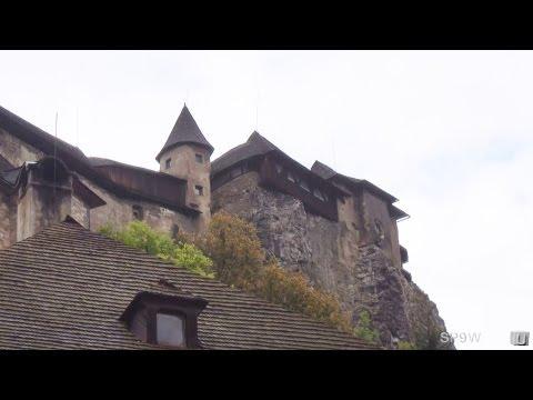 [3DHD] Orava Castle,Oravsky Podzamok,Slovakia / Oravský hrad,Oravský Podzámok,Slovensko