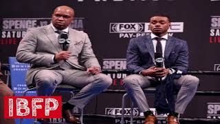 Errol Spence trainer delusional about going 12 rounds w/ Mikey Garcia