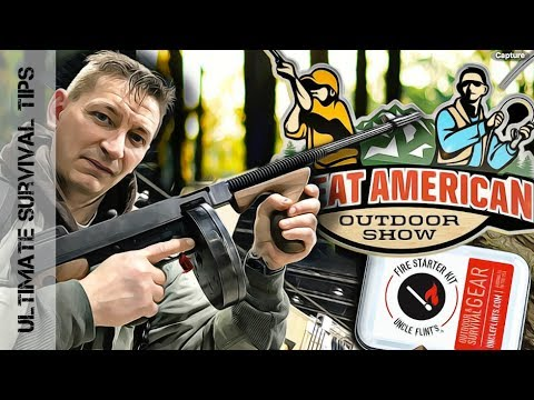 NEW! SURVIVAL / HUNTING / CAMPING Gear @ Great American Outdoor Show