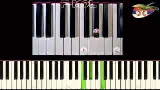 Klavijatura za pocetnike - (Mol akordi)Minor Chords
