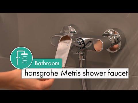 hansgrohe Metris shower mixer