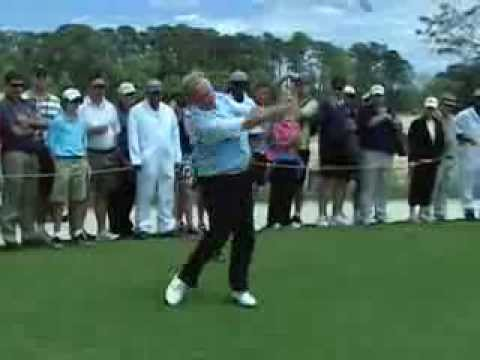 Jack Nicklaus plays Bay Creek