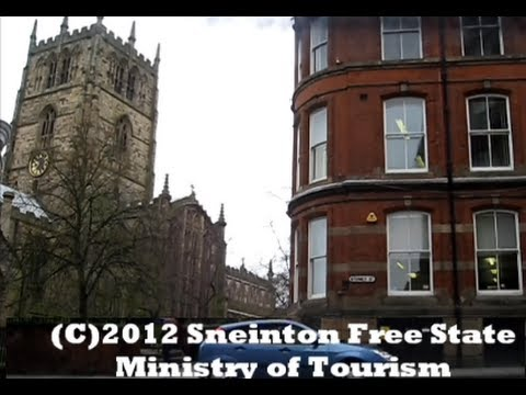 Nottingham City Centre Guided Tour drive thru plus commentary