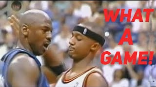 What a Game! 40 Yr-Old Michael Jordan Took Over 4th Qtr, But Amazing Happened in Last 0.6 Second!