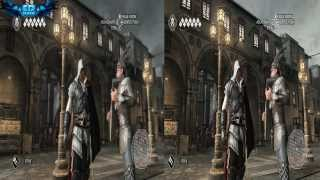 Assassin's Creed II PC Gameplay High Vs Low Comparison 1080p HD
