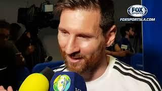 Messi Duele perder así en el primer partido  FOX Sports