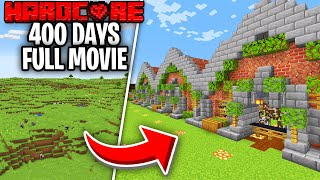 I Survived 400 Days on Hardcore Minecraft And This Is What Happened - Skyes