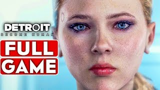 DETROIT BECOME HUMAN Gameplay Walkthrough Part 1 FULL GAME [1080p HD PS4 PRO] - No Commentary