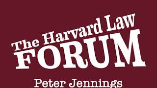 Peter Jennings at The Harvard Law Forum (1985)