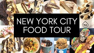 NYC FOOD TOUR | Best Food New York City