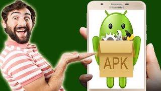 طريقة حفظ اي تطبيق اندرويد مثبت على هاتفك على شكل م ...