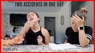 TWO ACCIDENTS IN ONE DAY