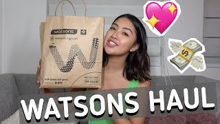 2020 NA WATSONS PA DIN (NEW FAVES & REPURCHASES) | Rei Germar