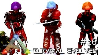 ARK: SURVIVAL EVOLVED - NEW ALPHA TRIBE CHIEF TAMING !!! E26 (MODDED ARK ANNUNAKI EXTINCTION CORE)