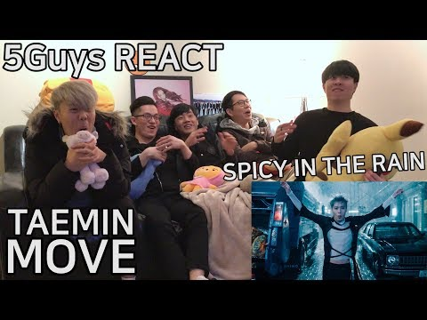 [GROOVY] TAEMIN (태민) - MOVE (5Guys MV REACT)