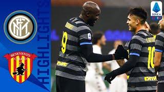 Inter 4-0 Benevento | Lukaku Scores Twice For Hosts! | Serie A TIM