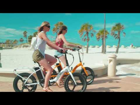 New for 2019 - VeeGo Semi-Fat Electric Beach Cruiser