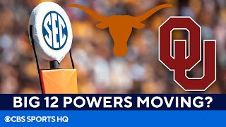 Texas, Oklahoma interested in joining the SEC? [Expert Reaction] | CBS Sports HQ