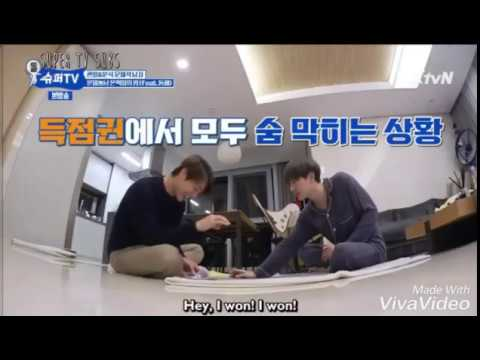 (Super TV) When Lee Donghae pulled prank for Eunhyuk.. He is the best actor of the year 😂