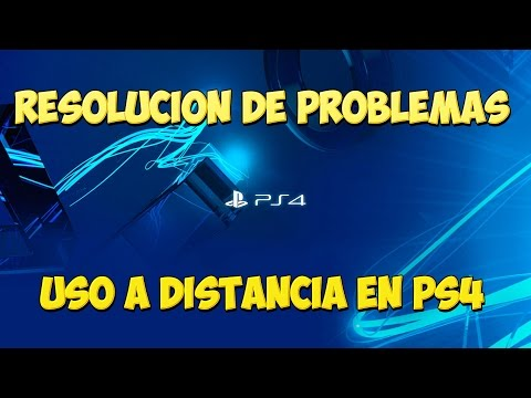 PS4: Resolución de problemas de la aplicación Uso a