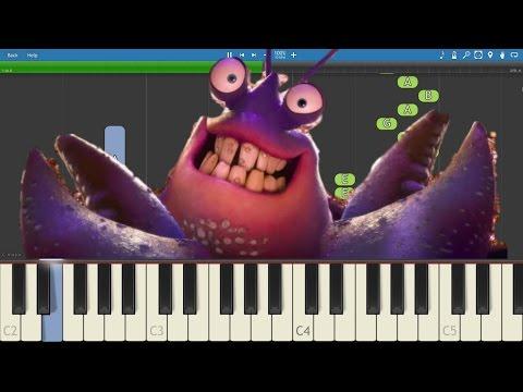 How to play Shiny - EASY Piano Tutorial - Moana Soundtrack - Jermaine Clement