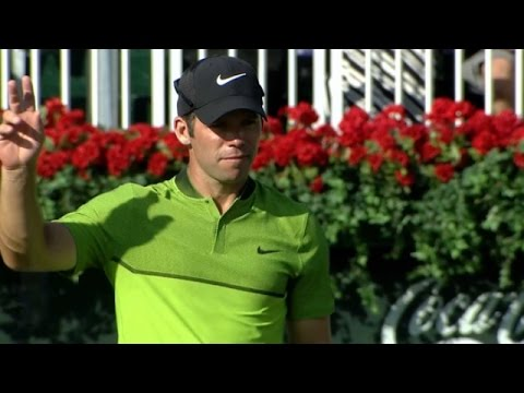 Paul Casey's 32-foot eagle putt at the TOUR Championship