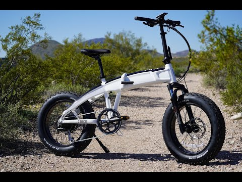 Aventon Sinch Folding Electric Fat Bike Review | Electric Bike Report