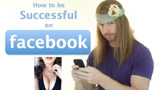 How to be Successful on Facebook (funny) - Ultra Spiritual Life episode 18 - with JP Sears