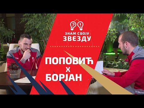Znam svoju Zvezdu - Zoran Popović i Milan Borjan