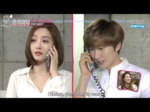 [JHH][Engsub] Bachelor party (Episode-2) Asking for ideal lady's number - Eunhyuk