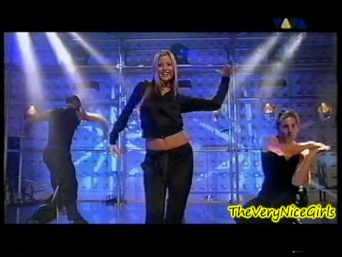 Holly Valance - Kiss Kiss - live