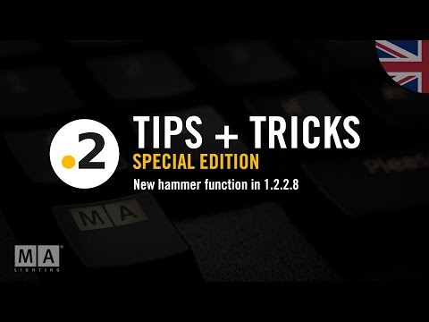 dot2 tips + tricks special edition! new hammer function in 1.2.2.8 | english