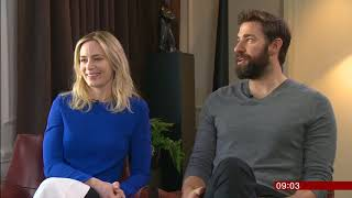 A Quiet Place - Emily Blunt & John Krasinski  interview BBC Breakfast