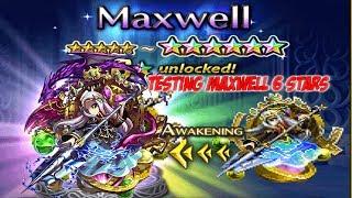 Brave Exvius Global - Testing Maxwell 6 Stars