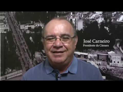 Mensagem do Presidente da Câmara Municipal José Carneiro