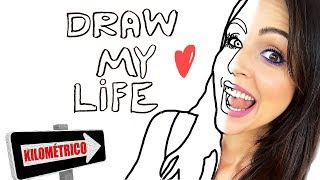 El Draw My Life Más LARGO e INTENSO de la Historia! - Dibujando mi Vida - SandraCiresArt