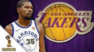 NBA Rumors: Kevin Durant Will Join Los Angeles Lakers Next Season!!!