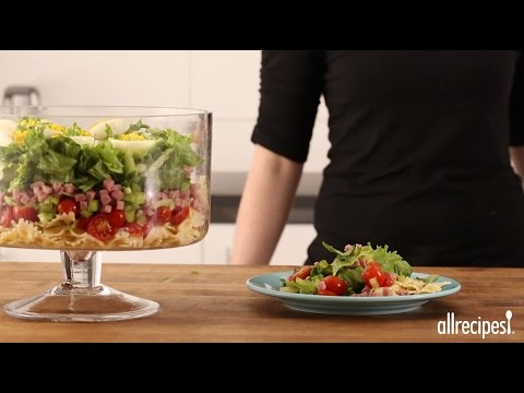 Summer Salad Recipes - How to Make Layered Deviled Egg Pasta Salad