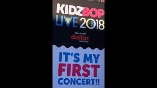 KIDZ BOP Concert at Jones (Our First Concert)