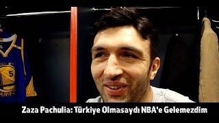 Zaza Pachulia: Türkiye Olmasaydı NBA'e Gelemezdim |  🎥