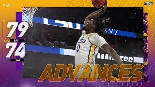 LSU vs Yale: First round NCAA tournament extended highlights