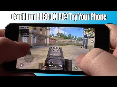 How Does PUBG Run On a $100 iPhone Compared To My $100 PC?