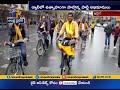 TDP Leaders Held Cycle Rally In Ireland Supporting PrajaKutami