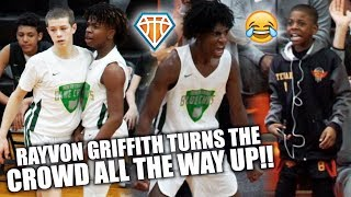 BLUE CHIPS' Rayvon Griffith Had the CROWD TURNED ALL THE WAY UP!! | + STOP SLEEPING on Gabe Cupps