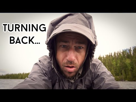 BECOMING WILD IN WABAKIMI - A Solo, 12 Day, 200km Journey Part 3 - TURNING BACK! Moose, Rainstorms.