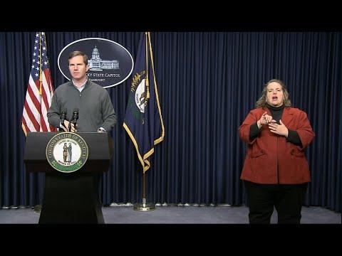 Gov. Andy Beshear March 15 4:00 p.m. Update | Coronavirus | KET