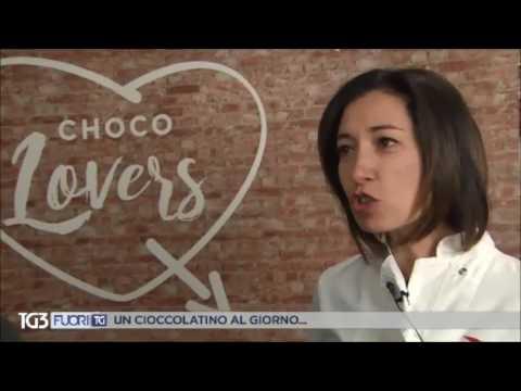 Chiara Manzi al Salon du Chocolat 2017 - TG3, fuori TG