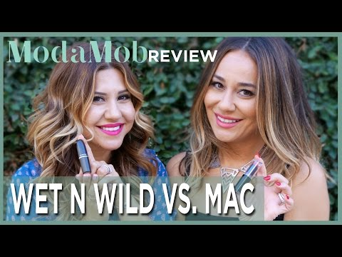 Wet n Wild Lipstick Vs. MAC Lipstick Product Review