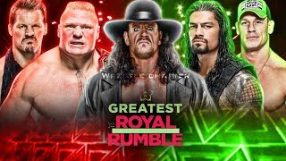 WWE Greatest Royal Rumble [Official Highlights] HD